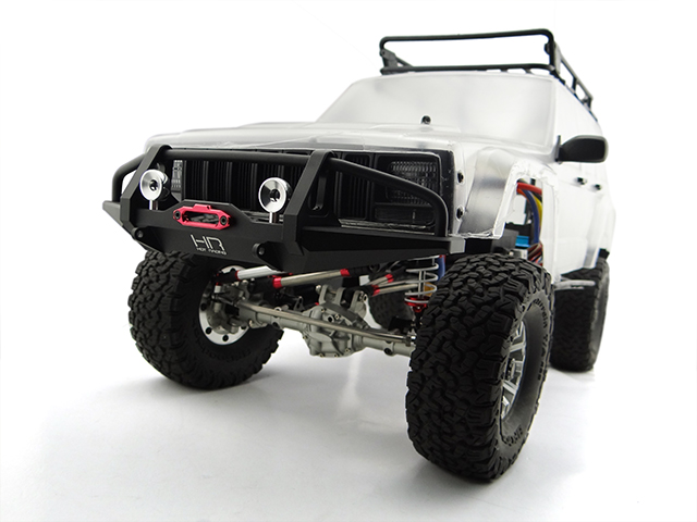 New Aluminum Front Bumper w//Servo Mount For 1//10 RC Crawler Traxxas TRX-4 TRX4