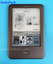 4GB Light eBook Reader WiFi e-book Tolino Shine e-ink 6 inch Touch Screen 1024x758 electronic Book 4GB front light