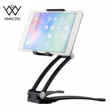 XMXCZKJ Phone Holder For Kitchen Tablet Mount Stand 2-in-1 Wall /Countertop Fit For 13.4cm To 19cm Width And For Iphone Samsung(China)