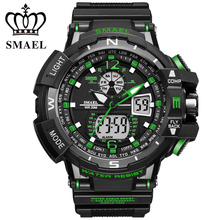 2017 Men Sports Watches S-SHOCK Military Watch Fashion Wristwatches Dive Men's LED Digital Watches Waterproof Relogio Masculino(China)