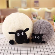ZXZ 25 35cm Shaun The Sheep Plush Toys Soft and Comfortable Animal Stuffed Pillow Toys Baby Adult Gift(China)