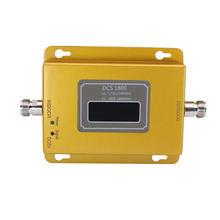 GSM 1800 LCD Display 70dB Gain 2g 4g LTE Cell Phone Signal Repeater  DCS 1800 Mobile Phone Amplifier GSM Cellular Signal Booster