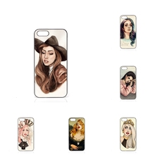 Case Accessories lady gaga helen green For Apple iPhone 4 4S 5 5C SE 6 6S 7 7S Plus 4.7 5.5 iPod Touch 4 5 6