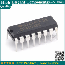FREE SHIPPING 10PCS CD4094BE DIP-16 CD4094 4094 NEW IC 8-STAGE Shift-and-Store BUS REGISTOR