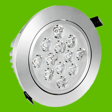 16PCS CREE LED Downlight 12W Dimmable Round Ceiling Recessed Down Lights Lamp Kitchen Bathroom Shops Stores Downlights