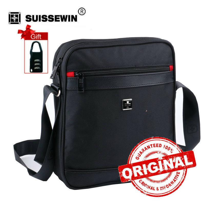 2017 Rushed Direct Selling Polyester Soft Swiss Men Messenger Shoulder Bag Crossbody Waterproof Zipper Mens Brand Bags Sw9726a <br>
