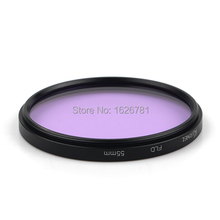 55mm Fluorescent Lens Filter Light Daylight FLD FL-D FL-DAY Correction(China)