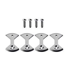 Titanium Bike Locking Pedal Bicycle Bicycle Pedal Plate Bow Tie Shape For SpeedPlay Zero Light Action 4pcs/set