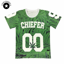 New fashion women's 3D print flower t shirt weed leaf floral novelty short sleeved causal letter 00 tshirt top clothing(China)