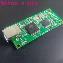 Mshow Italy Amanero USB digital interface supports 384K I2S DSD 512 Super XMOS