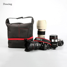 2 layers Fashion Design Camera Case Bag for Canon EOS DSLR 750D 700D 650D 600D 1100D 760D 6D 70D 1200D 550D 60D 7D SX60 t5i t6i
