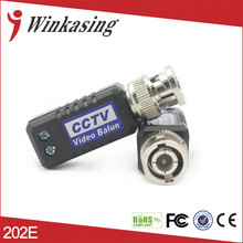 Free Shipping CAT5 To Camera CCTV BNC UTP Passive Video Balun Transceiver Tool-less High Quality screw less Express 20PCS(China)