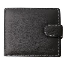 JINBAOLAI Hot Selling Men's PU Leather Card Cash Receipt Holder Organizer Bifold Wallet men Purse Business Wallets Wholesale