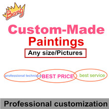 Poster custom Private photo custom any style any size Painting custom Canvas print Professional Customization(China)