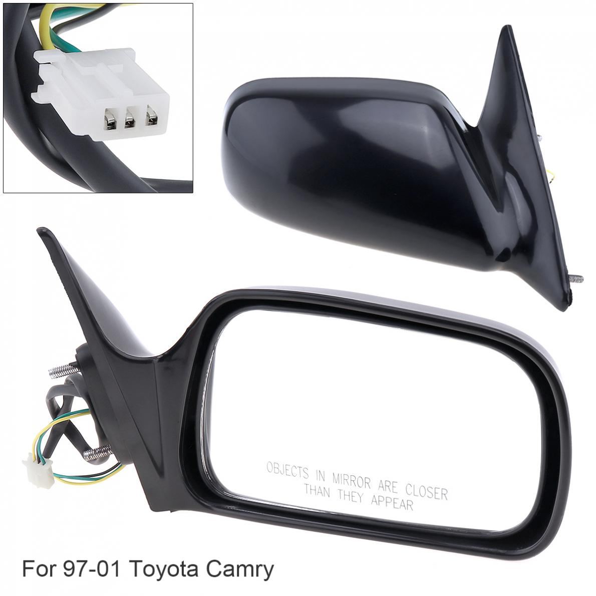 NEW Mirror 97-01 TOYOTA CAMRY Passenger Right Side USA Built POWER NON-HEATED