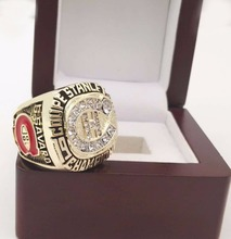 The Best Quality Replica Newest Design 1986 Ice Hockey Montreal Canadiens zinc alloy sports world Championship Ring with box(China)