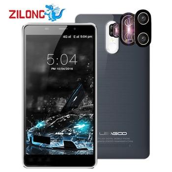 Leagoo m8 pro 5.7 inch hd mt6737 quad core smartphone 2 gb ram 16 GB ROM 4 Gam Điện Thoại Di Động Kép Trở Lại Máy Ảnh Android 6.0 Điện Thoại Di Động