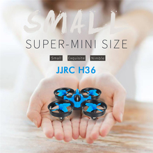 Free Shipping JJRC H36 Mini RC Drone 2.4G 4CH 6-Axis Speed 3D Flip Headless Mode Quadcopter Toy Gift RTF VS Eachine E010 H8 Mini