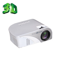 Newest 2016 Cheap Full HD Proyector Beamer LED Mini Video LCD 1080P 3D Home Theater mini Projector MC-T805B