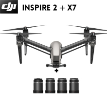 New Product! DJI Inspire 2 Drone with X7 Camera FPC RC Quadcopter Professional level Aircraft Make Movie Original Drone(China)