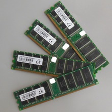 4GB 4x1GB PC3200 400MHZ 184pins Low density Desktop memory 2Rx8 CL3 DIMM 4G RAM for Dell,Intel,HP,Compaq, ASUS,Sony motherbaords(China)