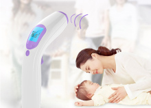 Digital Fever Baby Child Thermometer Electronic Non Contact Clinical Thermometer Power Saving Non-touch Ear Thermometer