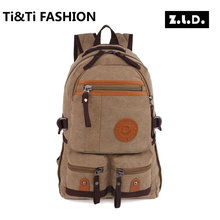 Original Z.L.D New Men Leisure Backpack Men's backpack Brand High Quality Business Classic Laptop Bag Travel Canvas Backpacks