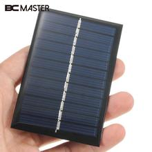 BCMaster 6V 0.6W Solar Panel Solar Power Panel Poly Module DIY Small Cell Charger For Light Phone Toy Portable Drop Shipping