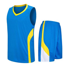 In stock plain basketball jersey custom your team jerseys print name and number   LD-8080