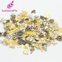 Lucia Craft 10g Mixed Sizes Multi option Alloy Metal Hanging DIY Jewelry/Garment Handcraft Accessories Material 079028124(China)