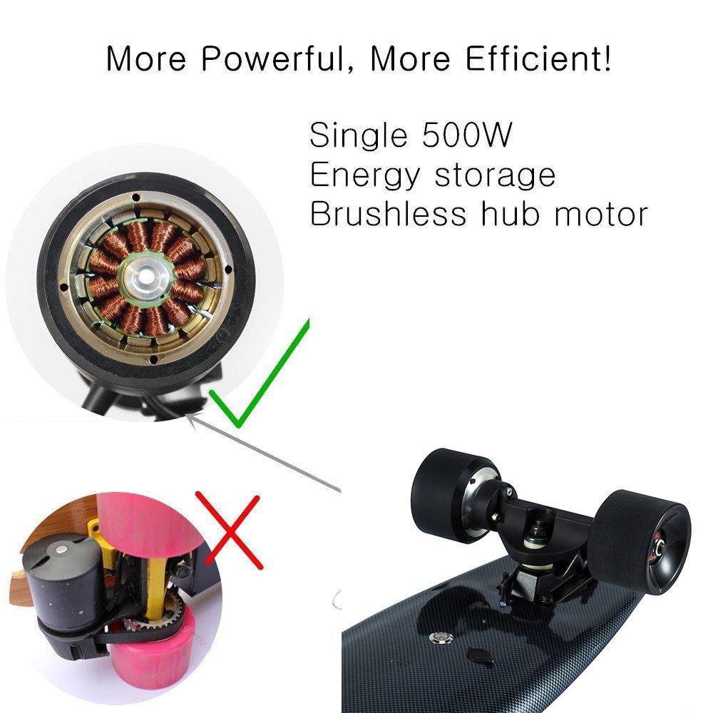 hub motor electric skateboard