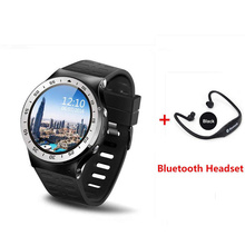 Android 5.1 Smart Watch S99 MTK6580 Quad Core Support Google Voice GPS Map Bluetooth Wifi 3G Smartwatch Phone Heart rate(China)