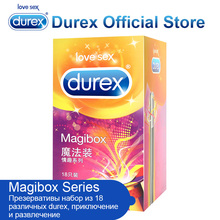 Original Durex Magibox Condom Natural Latex Big Size Super Ultra Thin Condoms Intimate Goods Sex Toys for Adult Sex(China)