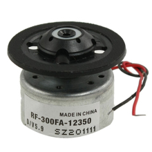 High Quality RF-300FA-12350 DC 5.9V Spindle Motor for DVD CD Player Silver+Black