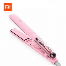 Buy Xiaomi Yueli Professional Vapor Steam Hair Straightener Curler Salon Personal Adults Use Hair Styling 5 Levels adjustable Temp for $42.96 in AliExpress store