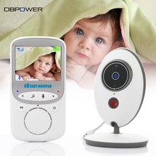 DBPOWER 2.4 inch 2.4GHz Wireles Baby Monitor VB605 Infant Babysitter Digital Baby Camera Audio NightVision Temperature Display