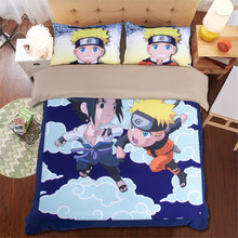 Naruto hokage cartoon comforte bedding sets twin queen king size japanese comforter style quilts duvet cover 3/4pcs bedspreads