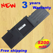 New Replacement 312-0443 312-0445 battery For DELL Latitude D420 D430 laptop battery