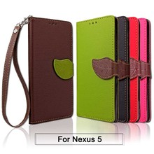 Buy Nexus 5 Case Cover LG Nexus 5 PU Leather Leaf Flip Wallet Case Google Nexus 5 Phone Coque Fundas Custodia Hoesjes Capa for $3.56 in AliExpress store