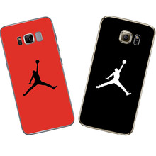 Michael Jordan Silicone For Samsung Galaxy S3 S4 S5 S6 S7 Edge S8 Plus A3 A5 J1 mini j2 J3 J5 J7 2015 2016 2017 Grand Prime Case
