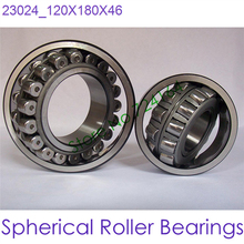 120mm Diameter Spherical Roller Bearings 23024 120mmX180mmX46mm ABEC-1 Machinery,reducer,rolling mill,crusher,vibrating screen