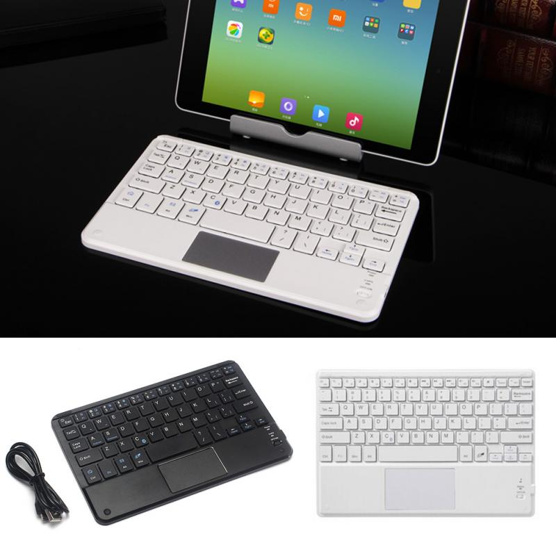 High Quality Wireless Bluetooth Keyboard Touchpad For All 7-10 inch Android Windows Tablets Drop Shipping #0703 2