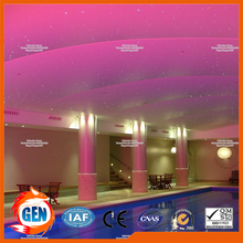 Shinning surface glossy surface pvc stretch ceiling film materials