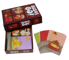 Sushi Go Game The Pick and Pass Cards Game 2-5 Players Family Game for Parents Children Party Game