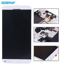 White For Blackberry Z10 3G Version LCD Display + Touch Screen Digitizer Assembly + Frame, Free Shipping !!!