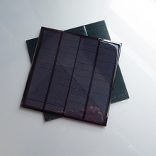 2pcs x 12V 3W 250MA Mini monocrystalline polycrystalline solar generator panel(China)