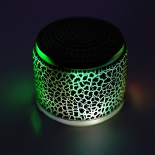Portable LED Bluetooth Mini Wireless PC Speaker Music Loudspeakers FM Radio Hand Free Call For Phone J21 TF Card Player(China)
