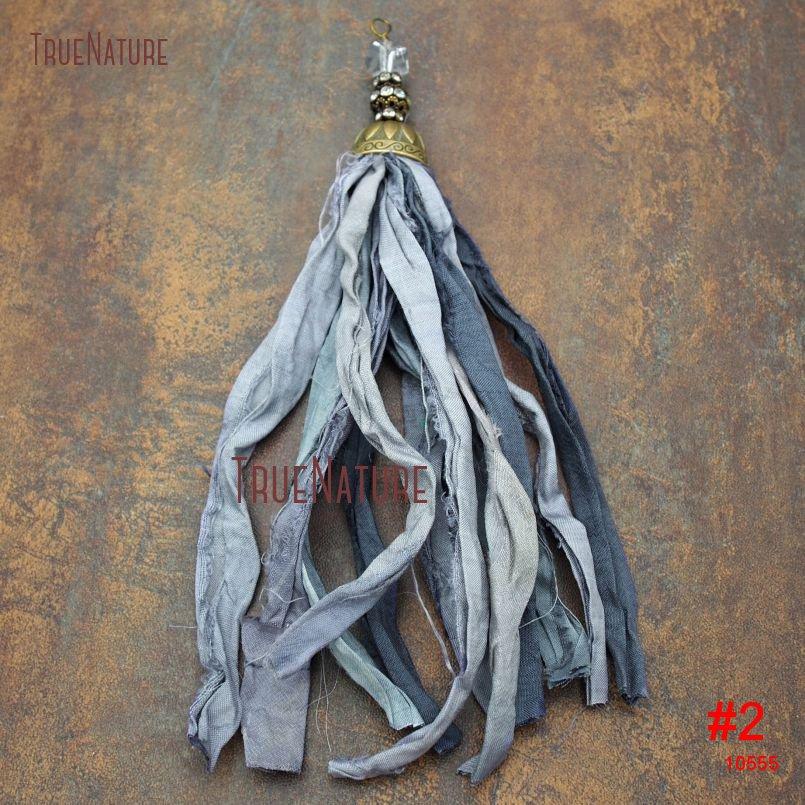 20180303-PM10556- Gray Shades Sari Silk Tassel Pendant_2