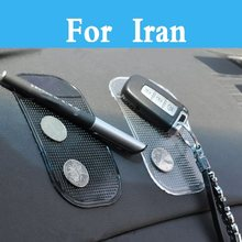 Car Powerful Silica Gel Magic Sticky Pad Phone Anti Slip Non Slip Mat For Iran Soren Khodro Samand Khodro Khodro Paykan(China)