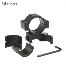 "Tactical Hunting 30mm/25.4mm 1"" QD Quick Release Scope Mount Ring Adapter 20mm Rail Weaver Picatinny Rifle Scope Laser Mount"